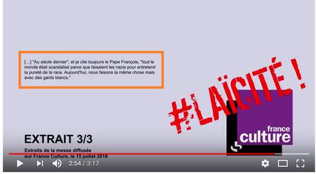 Comparer Simone Veil aux nazis, sur  @franceculture,  était-ce bien nécessaire ?  #catholibans #LGBT #feminisme