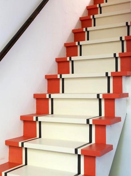 que faire avec du masking type escaliers