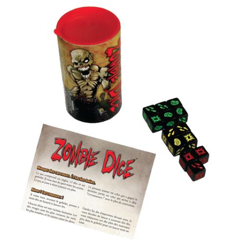 Zombie Dice, il est l'heure de passer à table ! Chez Edge Entertainment