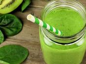 Smoothie kiwi epinards avec thermomix