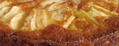 Gâteau aux pommes sans levure