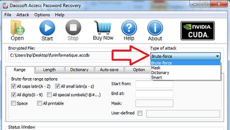 Ouvrir une base Access protégée par mot de passe