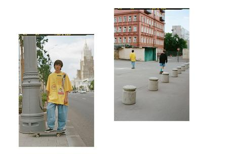 Gosha Rubchinskiy dévoile sa nouvelle collection Rassvet