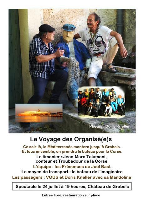 GRABELS – Le Voyage des Organisé(e)s – 24 juillet