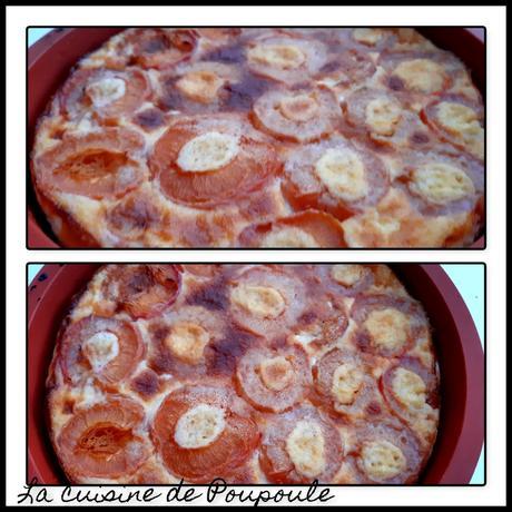 Clafoutis aux abricots (sans gluten) au thermomix ou sans
