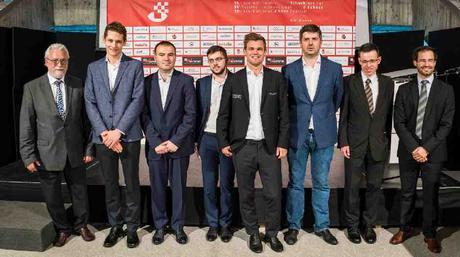 Le Festival d'échecs de Bienne 2018 avec Magnus Carlsen - Photo © site officiel