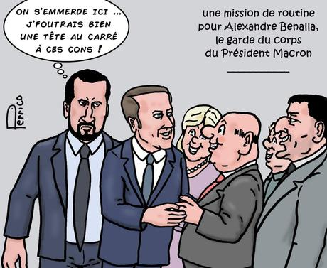 Alexandre Benalla, le garde du corps de Macron