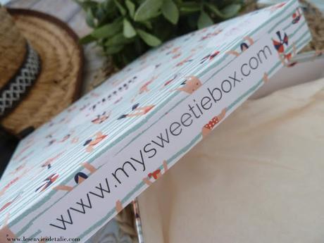 Playa et cetera - My Sweetie Box de juillet 2018