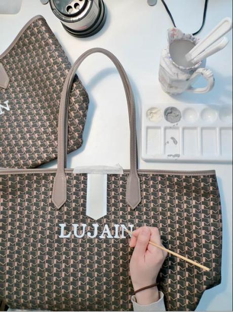 Rajoutez des monogrammes à vos sacs