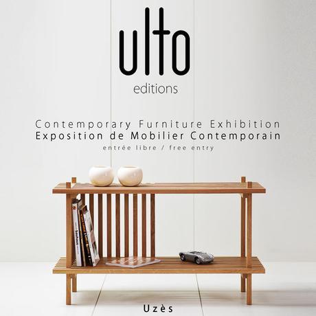 Ulto éditions, éditeur de mobilier contemporain à Nîmes