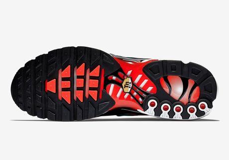 La Nike TN est disponible dans le coloris Team Orange