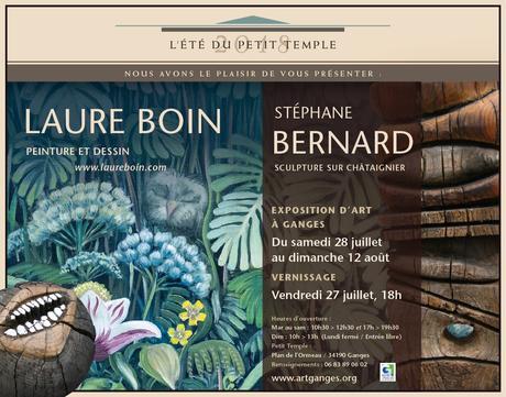 Ganges | Exposition Laure Boin et Stéphane Bernard au Petit Temple