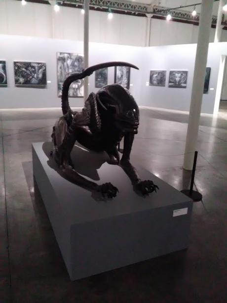 Exposition Hans Ruedi Giger, seule avec la nuit