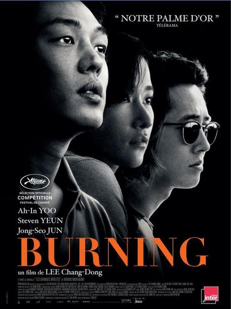 BURNING Un film de Lee Chang-dong au Cinéma le 29 Aout