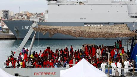 L'Italie va accepter les clandestins secourus en mer durant 5 semaines