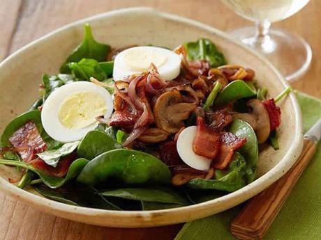 Salade champignons w.w avec thermomix