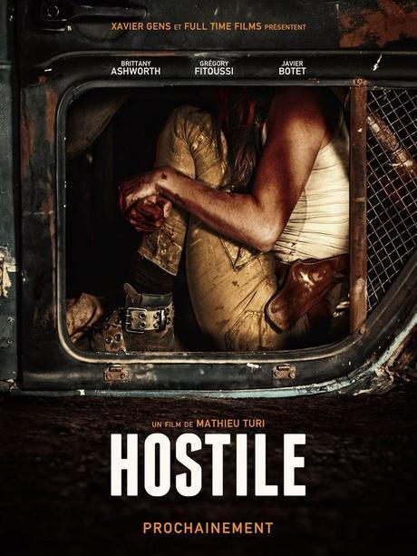 HOSTILE avec Brittany Ashworth, Grégory Fitoussi, Javier Botet au Cinéma le 26 Septembre 2018