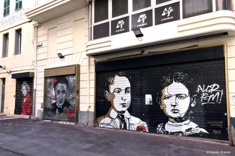 Galerie de portraits à la Canebière