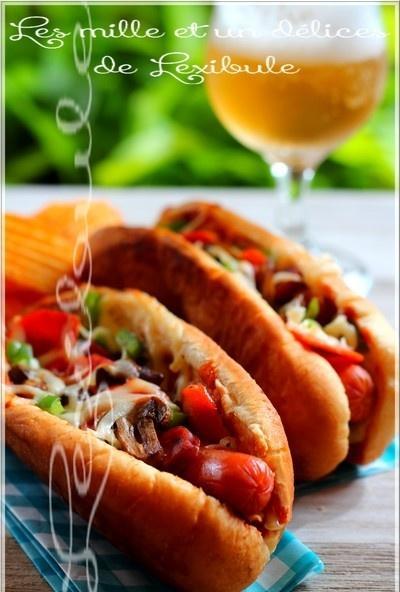 ~Hot-dog pizza~