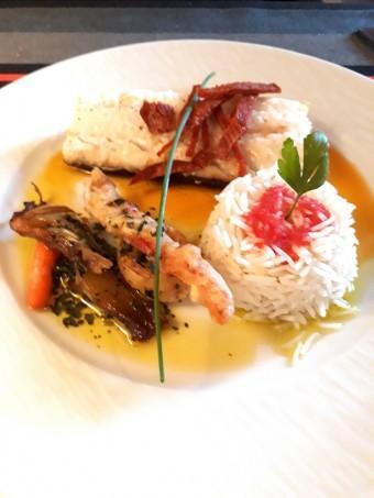 Cabillaud, chorizo © Gourmets&co