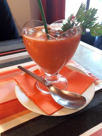 Supa fresca, chorizo © Gourmets&co