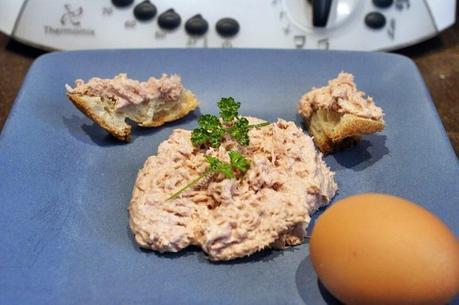 recette du jour: Thon mayonnaise  au thermomix de Vorwerk