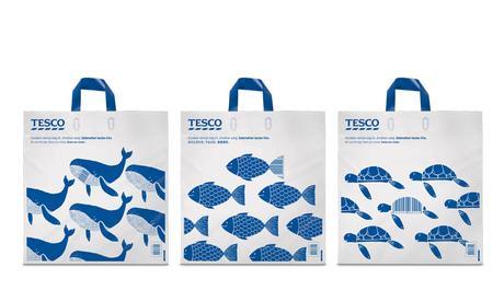 Ce sac de courses recyclé vous offre des réductions quand vous l'utilisez
