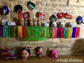 Un marché mexicain au Festival ¡Que Gusto!