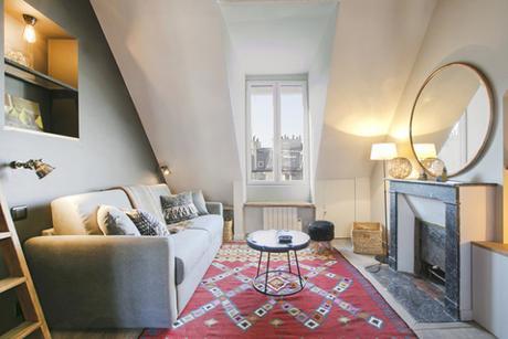 Rue de Rivoli, un appartement parisien rénové pour maximiser un petit espace