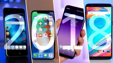 new phones in 2018