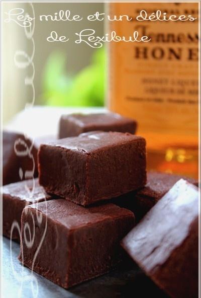 ~Fudge au whisky Jack Daniel's~