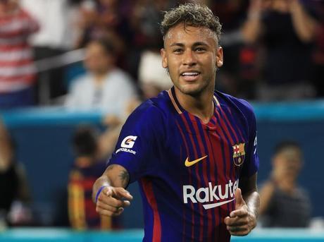 Le troisième joueur de football le mieux payé au monde: Le brésilien Neymar