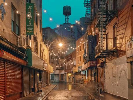 New York : il capture la magie des rues de Chinatown juste avant l'aube