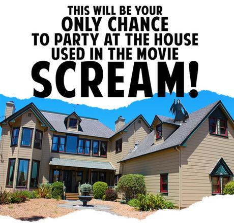 Il est maintenant possible de passer la nuit dans la vraie maison de «Scream»