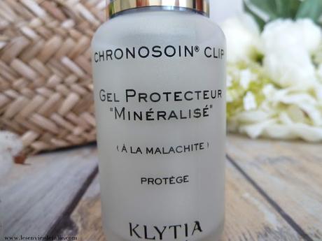 Gel Protecteur minéralisé by Klytia - soin du matin inspiré de la chronobiologie