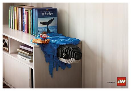 Une campagne de publicité LEGO très créative !