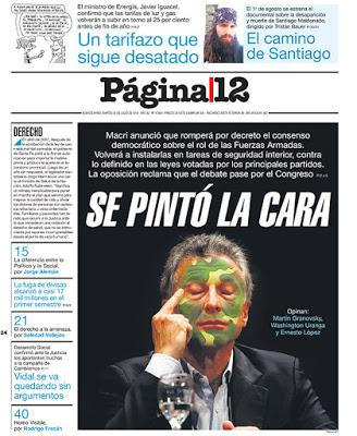 Macri s'attaque à un tabou démocratique [Actu]