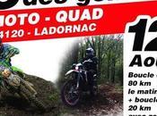 Rando moto quad l'Association Lez'enra'g, Genets Ladornac (24) août 2018