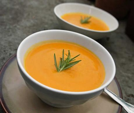 soupe carotte fromage au cookeo