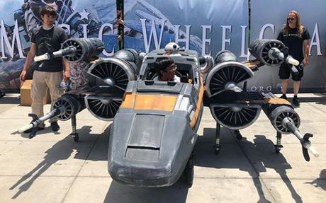 Les fauteuils roulants Star Wars du Comic-Con de San Diego 2018