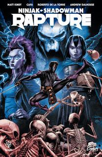 « Ninjak - Shadowman : Rapture » par Matt Kindt, Cafu et divers