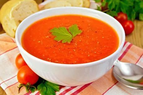 soupe tomate au cookeo