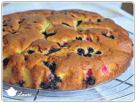 Gâteau moelleux au mascarpone et aux abricots