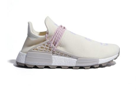 Pharrell x adidas NMD HU NERD Cream White Pink