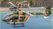 Deux H145M pour les missions de défense du Luxembourg