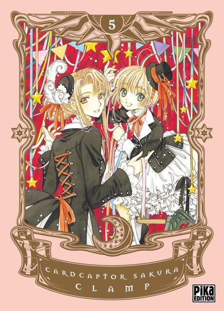 Card Captor Sakura, tome 3 & 5 de Clamp