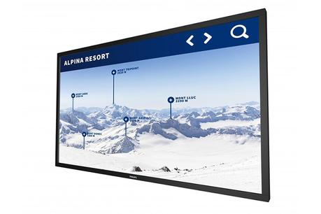 Philips 75BDL3010T tactile 4K