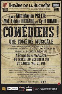 Comédiens ! conçu et mis en scène par Samuel Sené