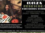soir, Cucuza chante Galpón l'affiche]