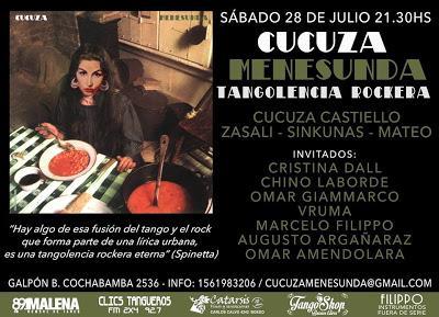 Ce soir, Cucuza chante au Galpón B [à l'affiche]